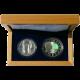Exkluzivní sada stříbrných mincí Jan Lucemburský a 700 cent 2010 Proof