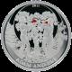 Stříbrná mince Adam a Eva 2011 Proof Palau