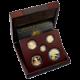 American Eagle Exkluzivní sada zlatých mincí 200. výročí hymny USA 2012 Proof