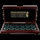 Biblická Svatá země Exkluzivní sada 12 antických mincí z doby Ježíše