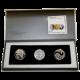 Biblické umění 1 NIS Sada stříbrných mincí Izrael 2009 - 2011 Proof