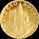 Zlatá čtvrtuncová medaile Hrad Bouzov 2011 Proof