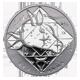Stříbrná medaile Býk Znamení zvěrokruhu Proof