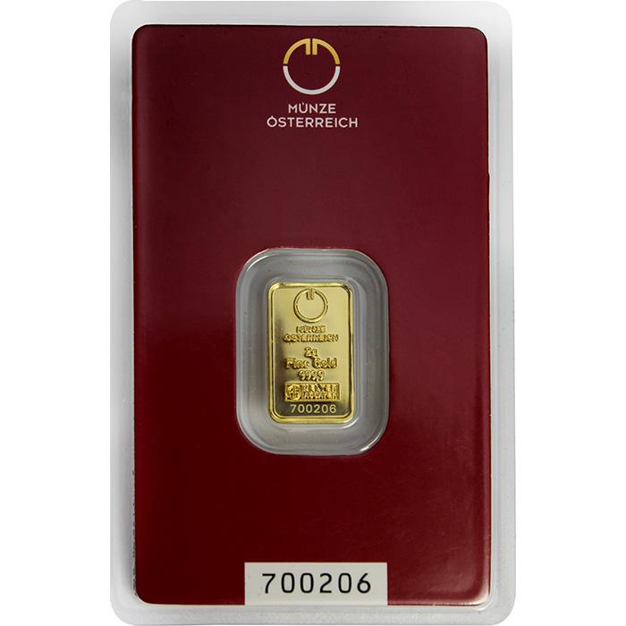 e716e66fd 2g Münze Österreich Investičná zlatá tehlička [000469] | 2.760,63 €