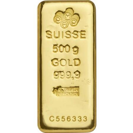 d0681e263 500g PAMP Suisse Investičná zlatá tehlička
