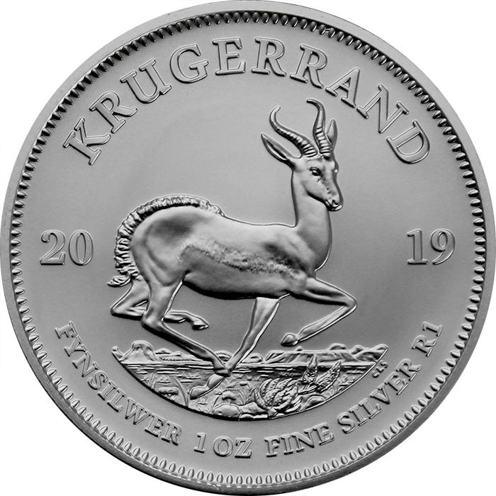 0c5cdff2c Strieborná investičná minca Krugerrand 1 Oz