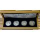 Sada 4 stříbrných medailí Doba Rudolfa II. 2009 Proof