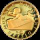 Zlatý dukát k narození dítěte 2012 s věnováním Proof