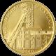 Zlatá mince 2500 Kč Důl Michal v Ostravě 2010 Standard