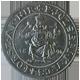 Stříbrná mince Groš Karel Robert 1896