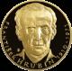 Zlatá uncová medaile František Hrubín 2010 Proof