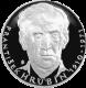 Stříbrná medaile František Hrubín 2010 Proof