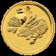 Zlatá investiční mince Year of the Rabbit Rok Králíka Lunární 2 Oz 2011