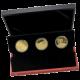 Zlato Jeruzaléma Sada zlatých investičních mincí Izrael 2010 - 2012