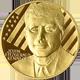 Zlatá půluncová medaile John Fitzgerald Kennedy 2010 Proof