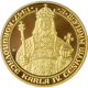 Zlatá uncová medaile Karel IV. českým králem 660 let od korunovace 2007 Proof