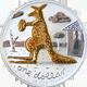 Stříbrná mince Pozlacený klokan 2008 $1 1oz