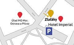 Prodejna Ostrava mapa