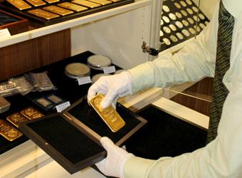 Prodejna Praha manipulace se zlatem