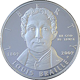 Stříbrná mince Louis Braille 2009 Proof