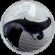 Stříbrná mince Manta obrovská Australian Sea Life II. 2012 Proof