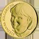 Zlatá čtvrtuncová medaile Štěpánka Hilgertová 2006 Proof