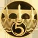 Zlatá medaile 5 haléř 2007 Proof