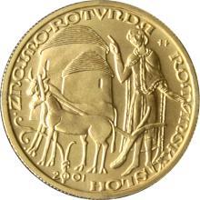 Zlatá minca 2000 Kč Rotunda Ve Znojmě Románsky Sloh 2001 Štandard