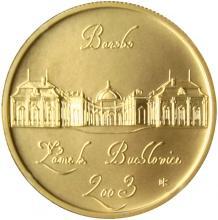 Zlatá minca 2000 Kč Zámok Buchlovice Baroko 2003 Štandard