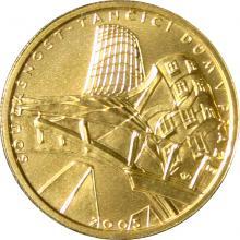 Zlatá mince 2000 Kč Tančící Dům v Praze Současnost 2005 Standard