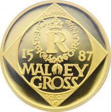 Zlatá mince 5000 Kč Malý groš 1997 Proof