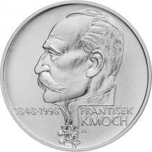 Stříbrná mince 200 Kč František Kmoch 150. výročí narození 1998 Proof