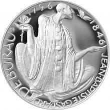 Stříbrná mince 200 Kč Jean Baptiste Gaspard Deburau 200. výročí narození 1996 Proof