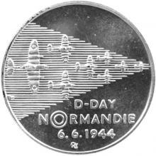 Stříbrná mince 200 Kč Vylodění spojenců v Normandii 50. výročí 1994 Proof