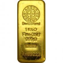 1000g Argor Heraeus SA Švajčiarsko Investičné zlaté tehličky