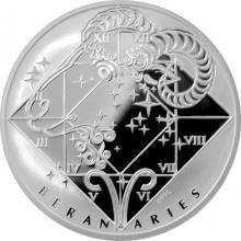 Stříbrná medaile Beran Znamení zvěrokruhu Proof