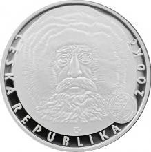 Stříbrná mince 200 Kč Dosažení severního pólu 100. výročí 2009 Proof