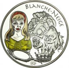 Blanche-Neige 1 1/2 euro (Sněhurka) Stříbrná pamětní mince