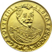 Replika dukátu Albrechta z Valdštejna 2002 Standard