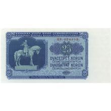 25 Kčs emisia 1953 (český tisk)