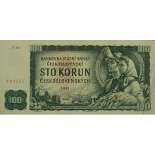 100 Kčs emise 1961