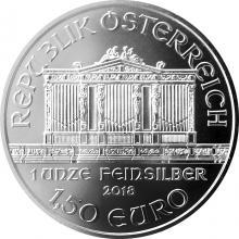 Strieborná investičná minca Wiener Philharmoniker 1 Oz
