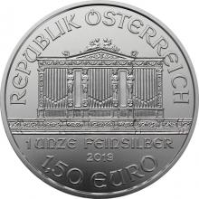 Stříbrná investiční mince Wiener Philharmoniker 1 Oz
