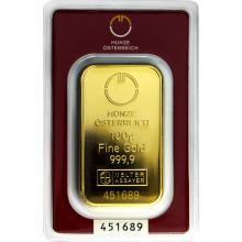 100g Münze Österreich Investičná zlatá tehlička