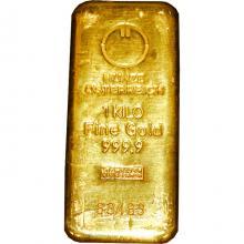1000g Münze Österreich Investičná zlatá tehlička