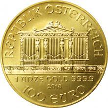 Zlatá investičná minca Wiener Philharmoniker 1 Oz
