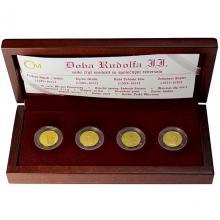 Sada zlatých medailí Doba Rudolfa II. 2009 PROOF