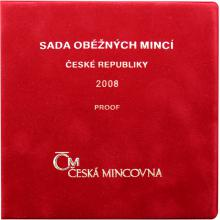 Oběžné mince r.2008 - Proof