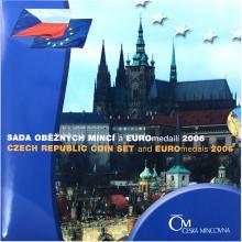 Sada oběžných mincí ČR - EURO 2006 Standard
