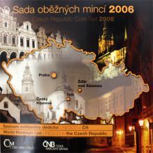 Sada oběžných mincí ČR - Unesco 2006 Standard